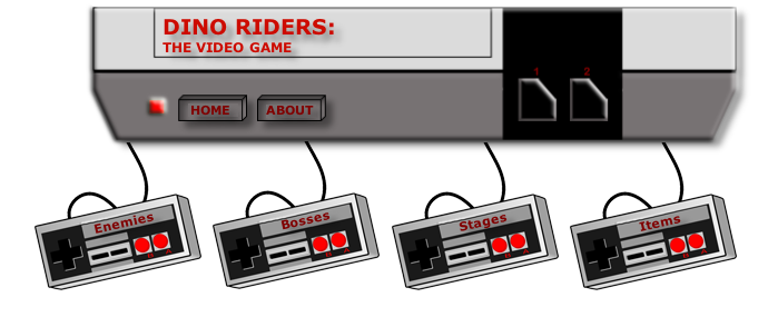 DINO RIDERS WORLD